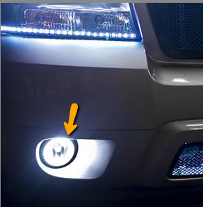 2007 2013 Chevy Avalanche Plasma Fog Light Halo Kit By Oracle