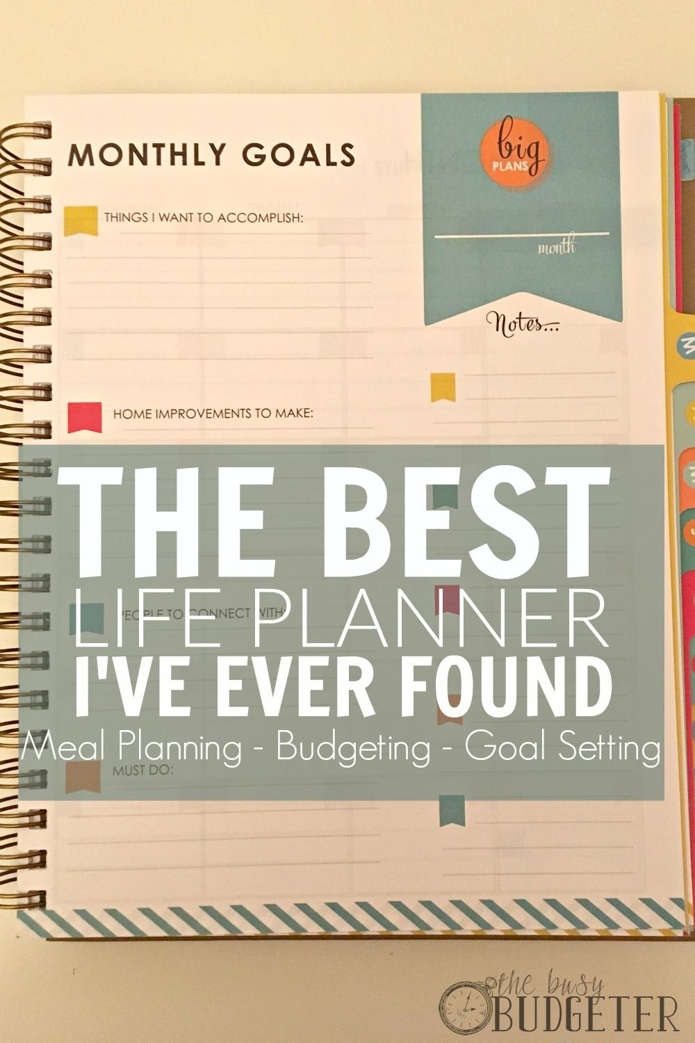 the living well planner review the best life planner i ve found