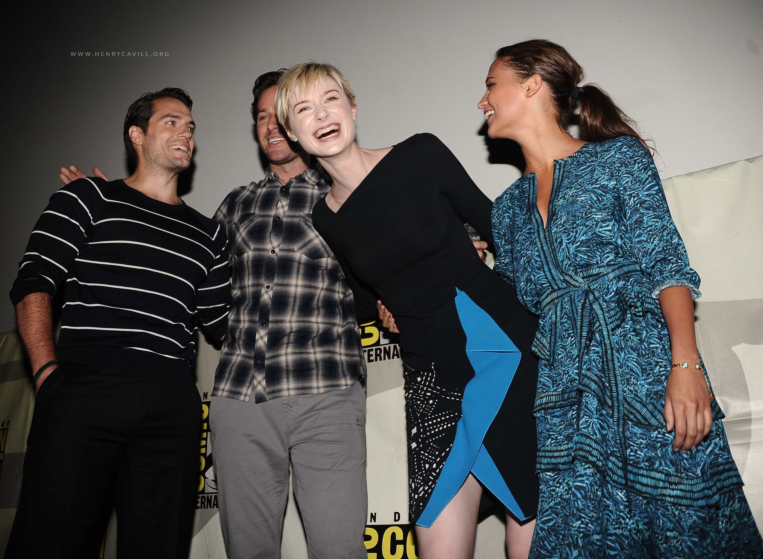 The Man from U.N.C.L.E. at San Diego Comic-Con 2015