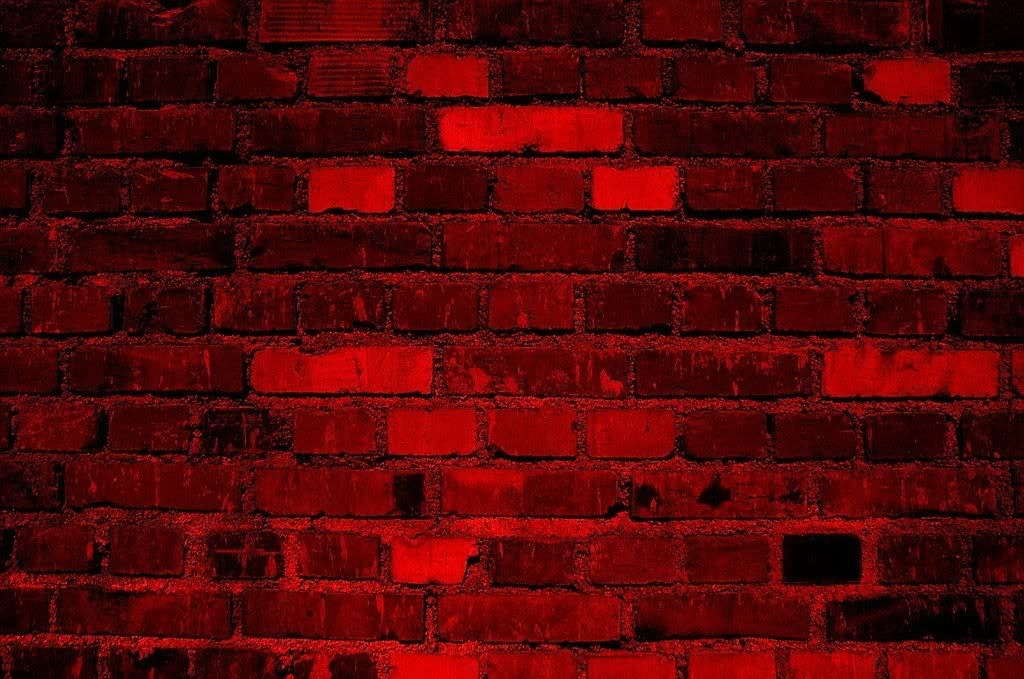 Mysterious Dark Red Brick Wall Texture Backgrounds