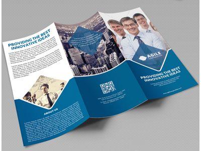 Creative Corporate Tri Fold Brochure Vol 20 | Tri fold brochure ...