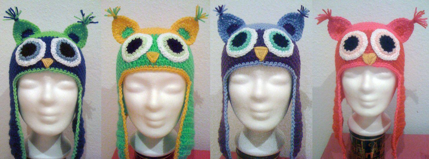 Häkelanleitung: Eulenmütze | Crazy Crochet and Nightmare Knitting ...