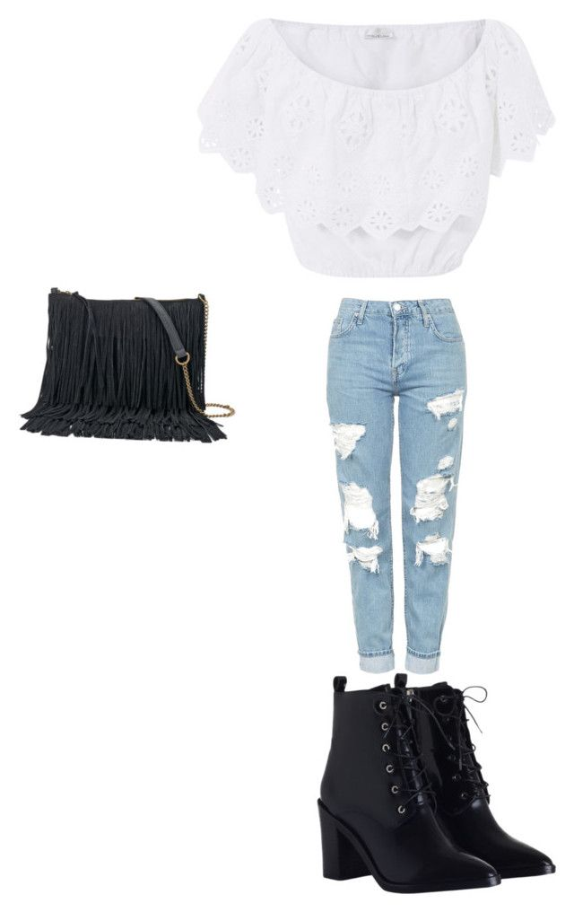 """""""Untitled #94"""" by madisonwatson06 ❤ liked on Polyvore featuring Miguelina, Topshop, Zimmermann and SONOMA Goods for Life"""