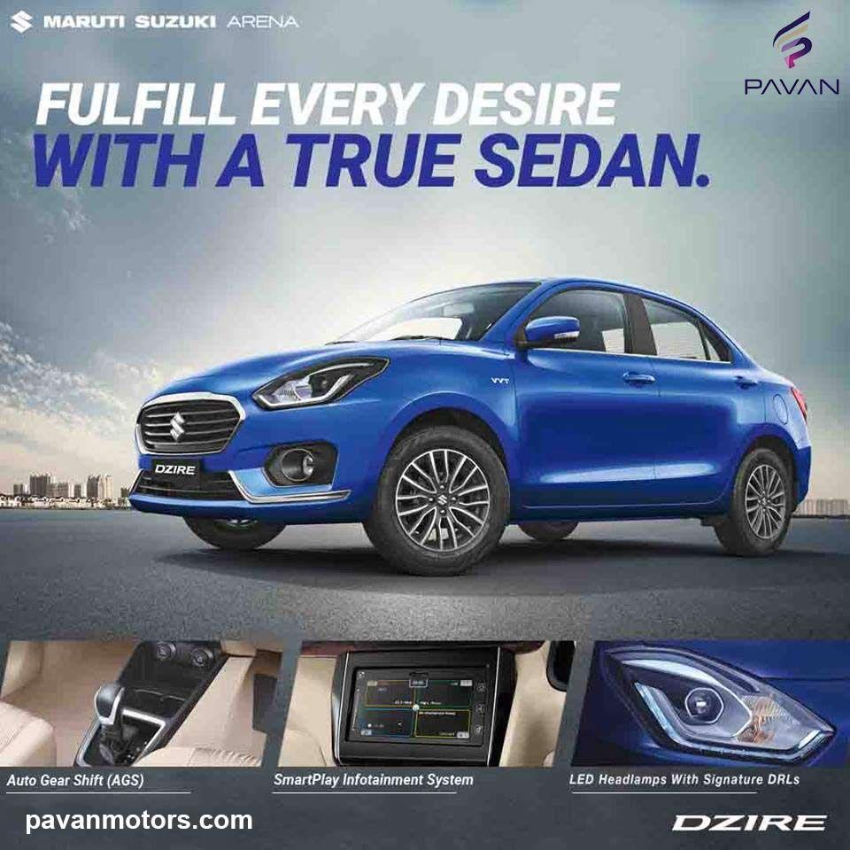 Fulfill Every Desire With A True Sedan. MarutiSuzuki