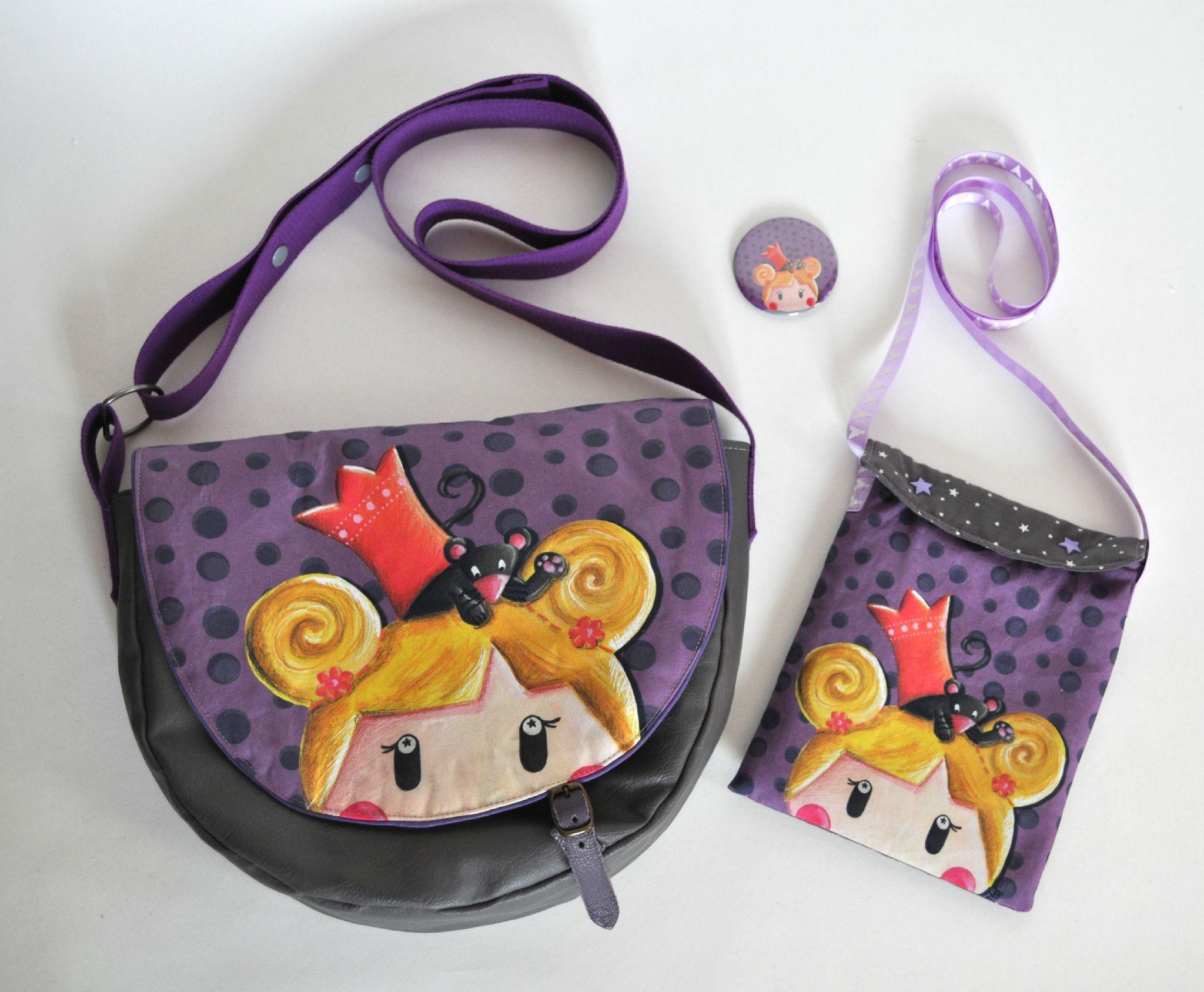 """Nouvelle illustration: """"La Princesse et la souris"""""""