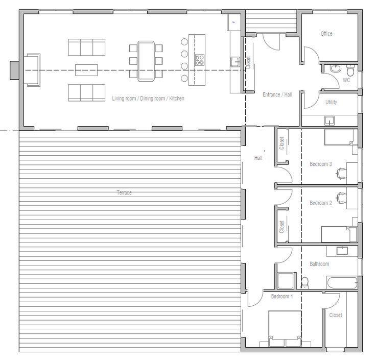 image result for l shaped house plans uk house plans pinterest