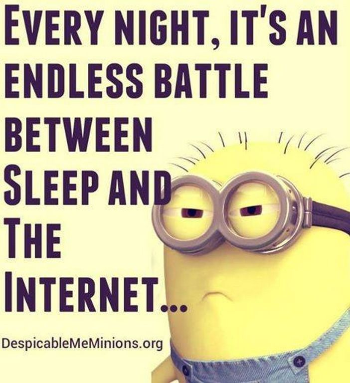 Battle Between Sleep And The minion minions