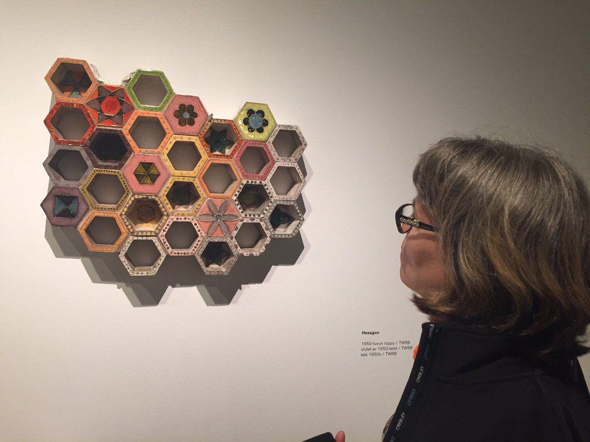 """Katja Mäkelä on Twitter: """"Rut Bryk / Taikalaatikko #EMMA'ssa 4.9. asti. Must see -näyttely, suosittelen! #RutBryk #museot #visitespoo #Espoo https://t.co/zirX1NXHOJ"""""""