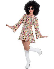 Fato De Anos 70 Para Mulher Roupas Hippie Fantasias