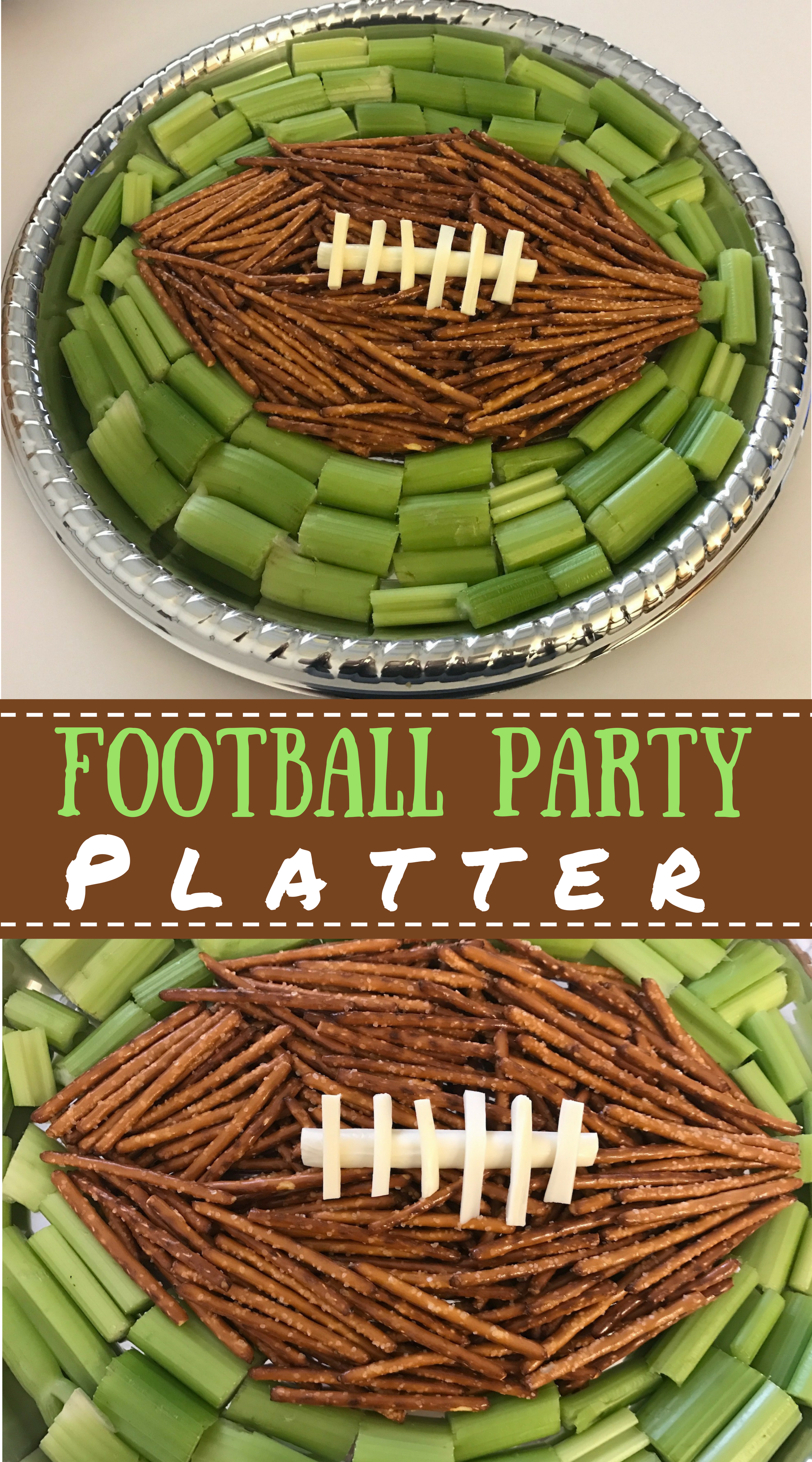 Healthy Football Party Appetizer