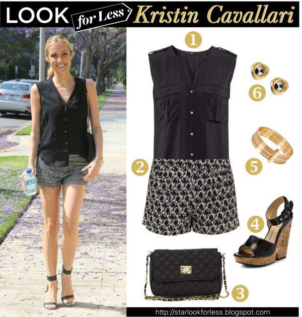 Look for less - Kristin Cavallari