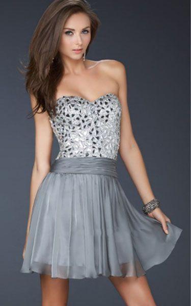 1000  images about Grey Dresses on Pinterest  Cocktail dresses ...