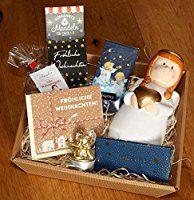 generisch Weihnachten Geschenke Präsentkorb Engel