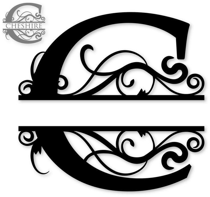 Split Regal Monogram Font Free Image Results