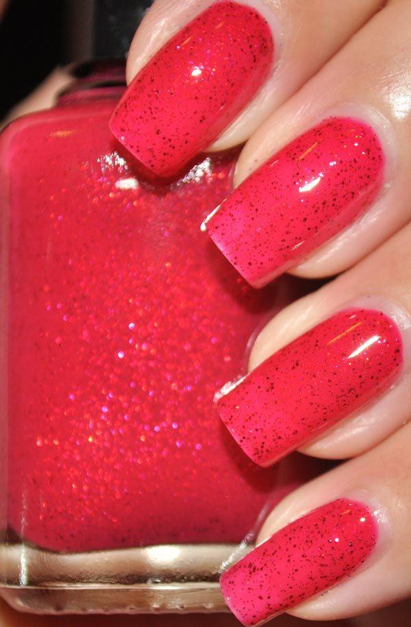 u jelly Red Glitter Nail Polish 5ml Mini Bottle. $4.50, via Etsy ...