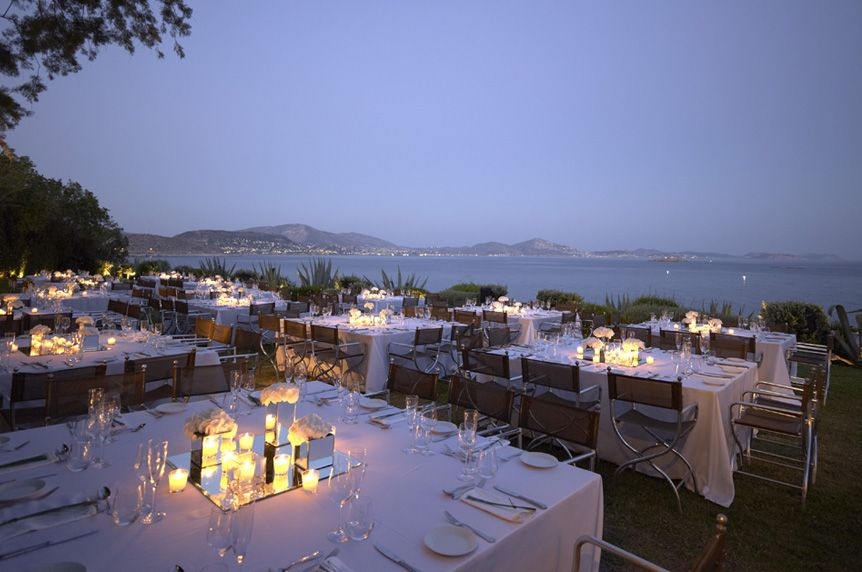 An Amazing Venue Island Art And Taste Athens Greece Reception Decorations Wedding