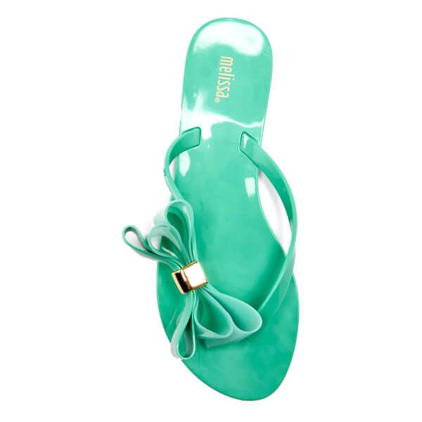 ea46e5af6 Melissa Women s Harmonic Cute Flip Flops - Mint ( 32) ❤ liked on Polyvore  featuring shoes