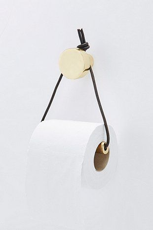 Gut Toilettenpapierhalter Mit Lederband   Urban Outfitters
