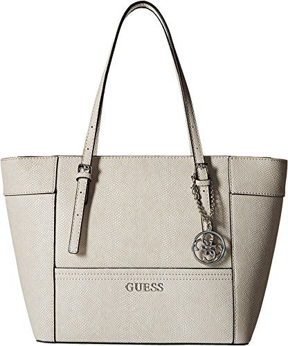 75c0973c21 GUESS Delaney Leopard-Print Small Classic Tote | Designer Handbags ...