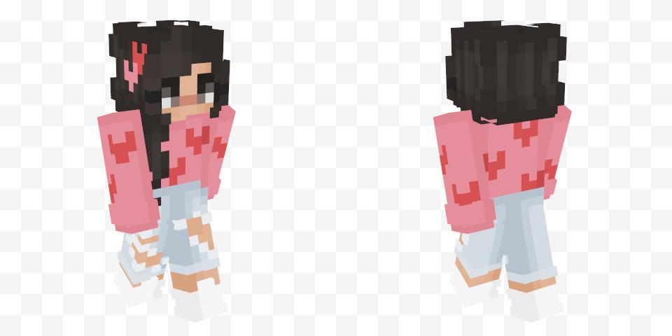 Pin By Paula Aguilar On M Heart Skins Minecraft Skin Skin White Stripe