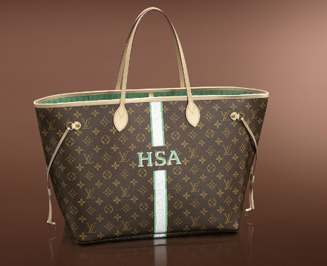 d535334f4092 personalized louis vuitton neverfull