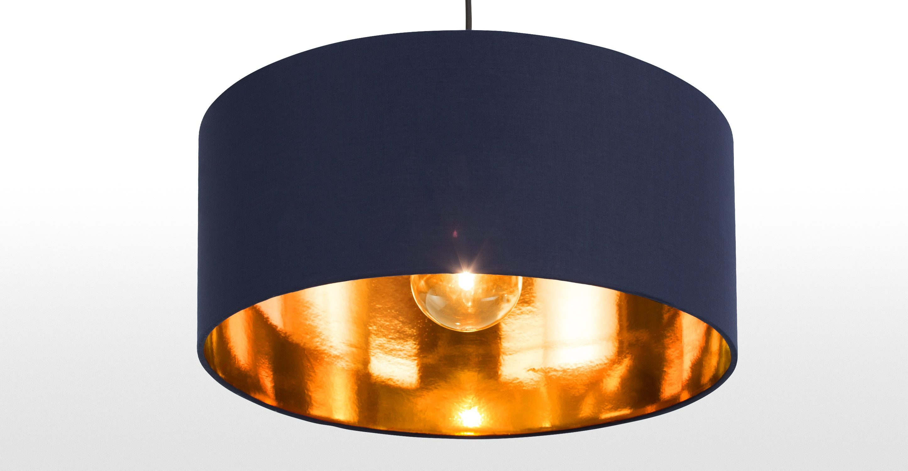 Navy copper copper ceiling pendant lamp shade hue living rooms navy copper copper ceiling pendant lamp shade hue mozeypictures Images