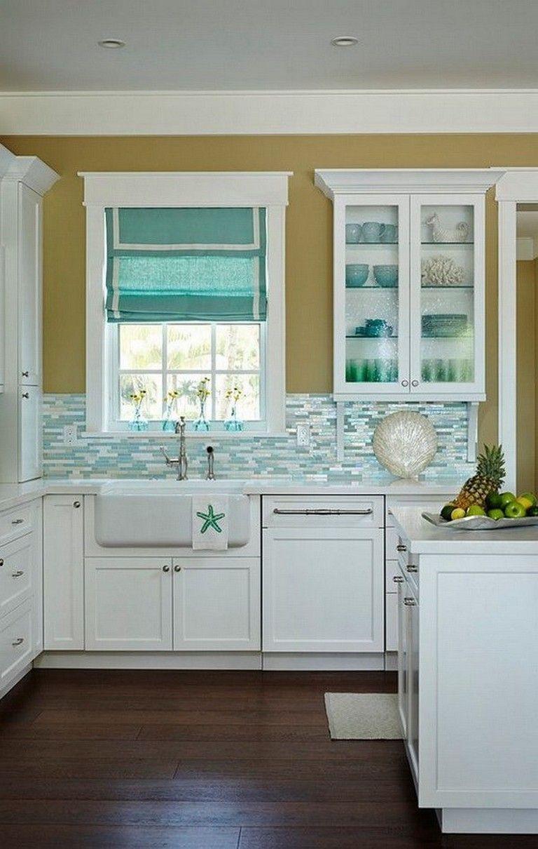 Beach Kitchen Decor And Coastal Kitchen Decor With Images