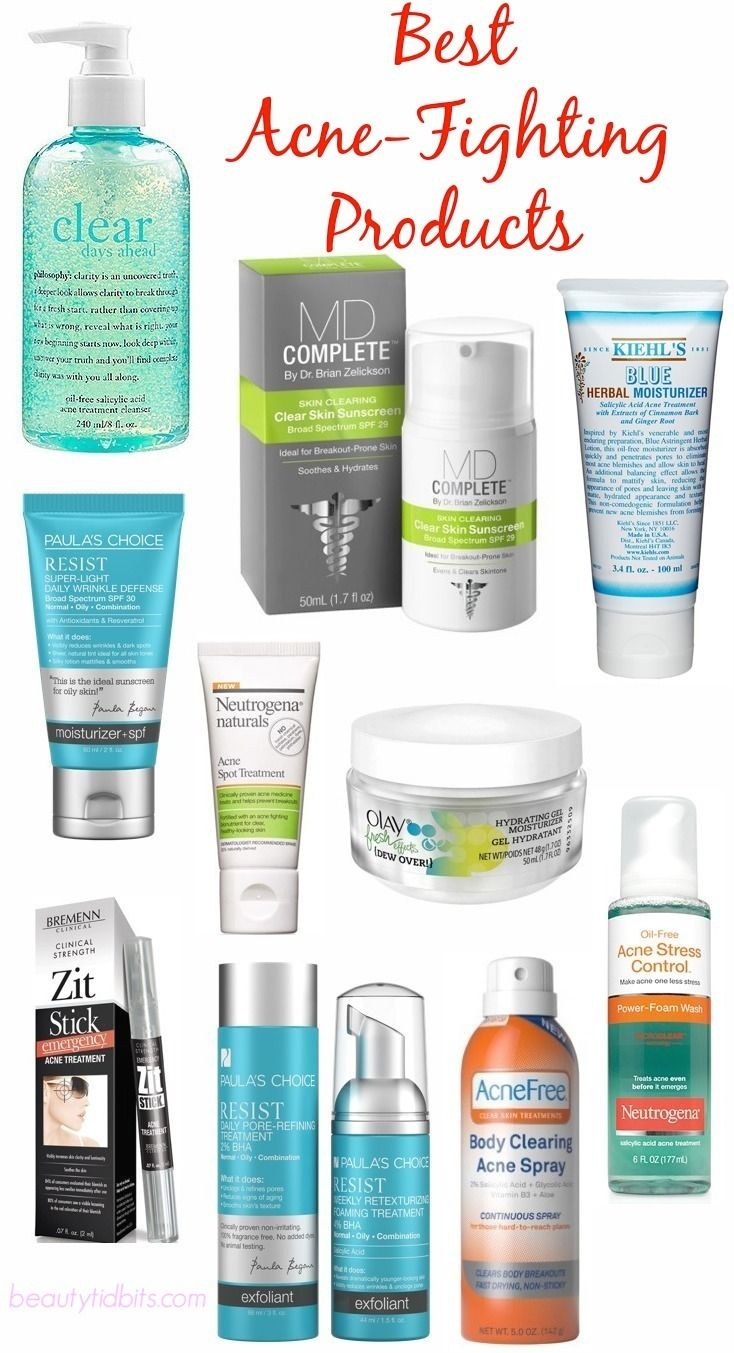 Banish Breakouts With These Amazing Acne Fighters Best Acne