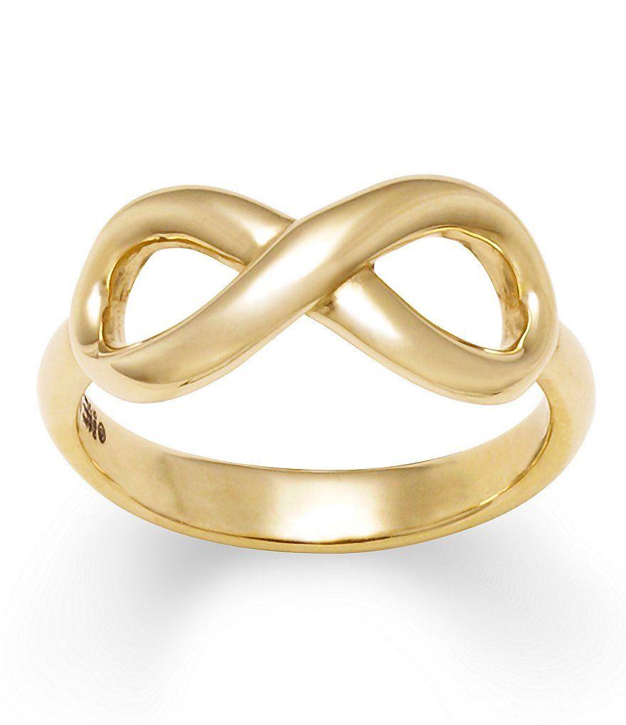 14k Gold Infinity Ring James Avery Rings Gold Rings