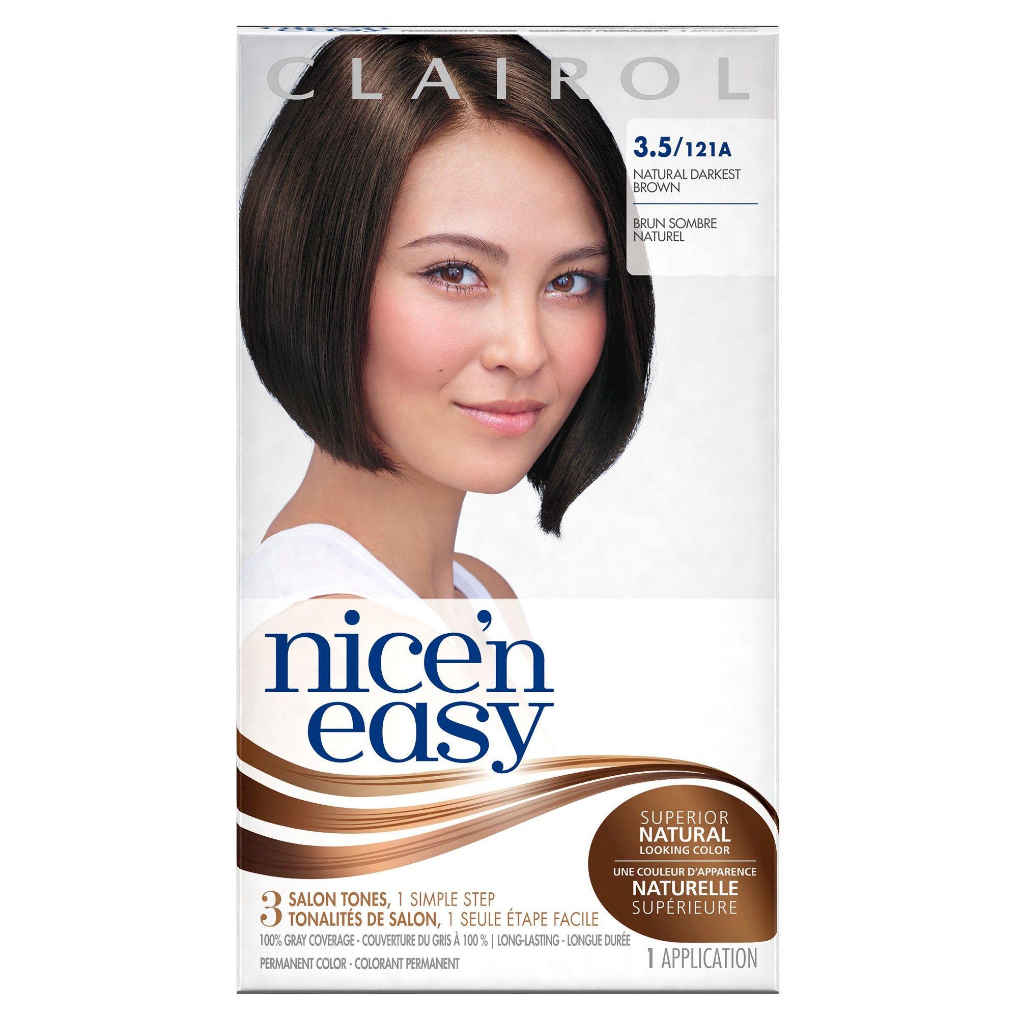 Light Ash Brown Semi Permanent Hair Colorclairol Beautiful
