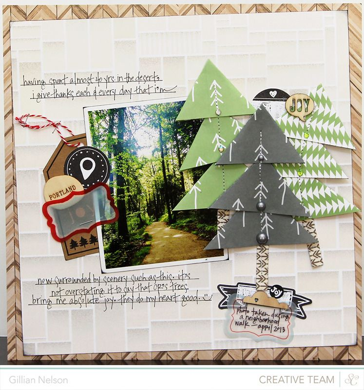 Scrapbooking Kits, Paper & Supplies, Ideas & More at StudioCalico.com! ~Gillian Nelson