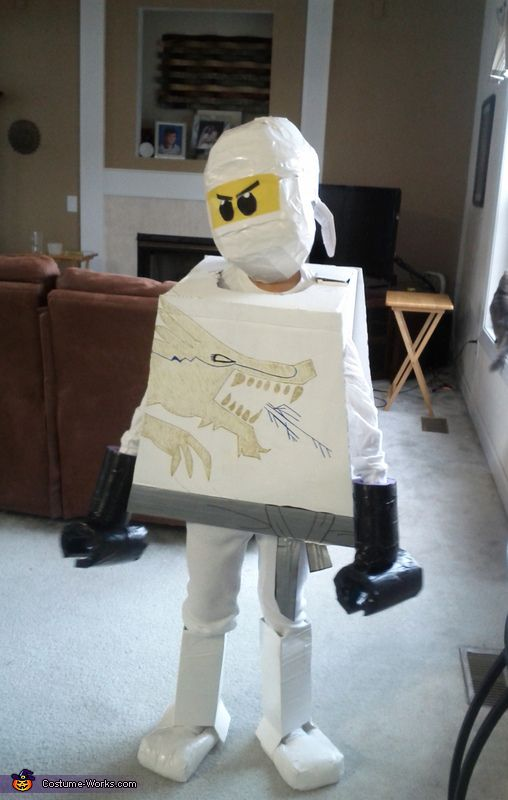 how to make a ninja costume from scratch
