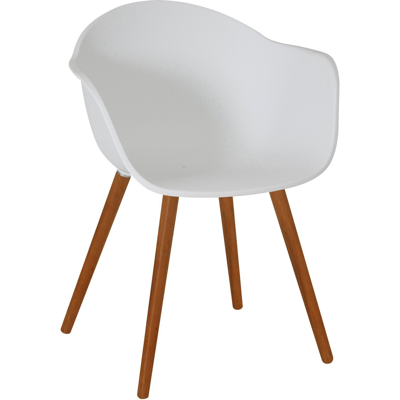 Greemotion Design Gartenstuhl Derby Kunststoff Weiss Kaufen Bei Obi Gartenstuhle Stuhle Metallstuhle