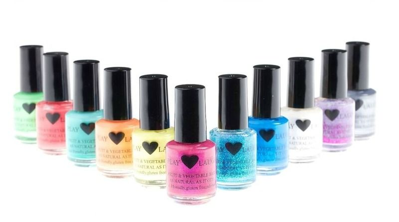 Play Love Laugh Fantastic Natural Nail Polishes That Are Safe For Kids