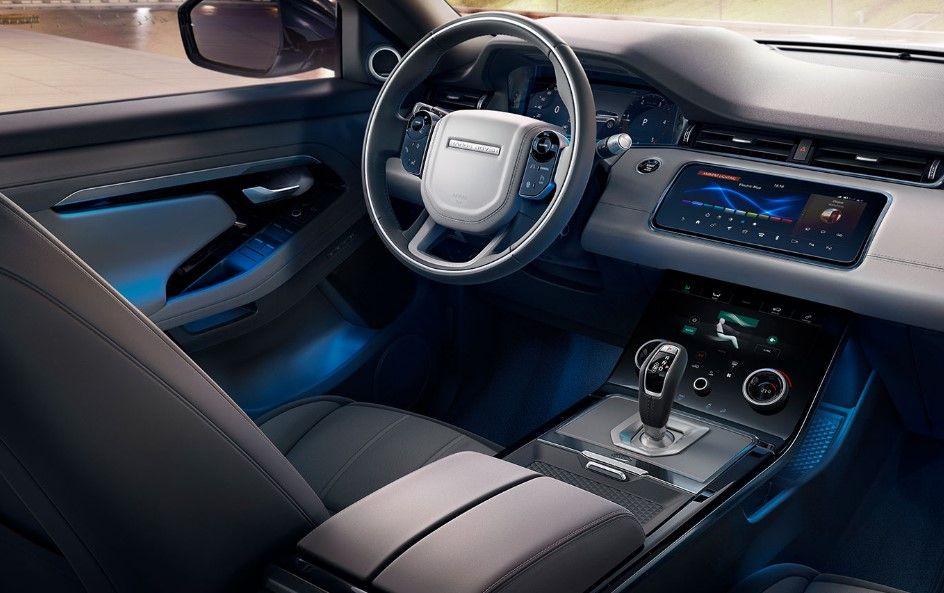 2020 Range Rover Evoque interior Carros de luxo