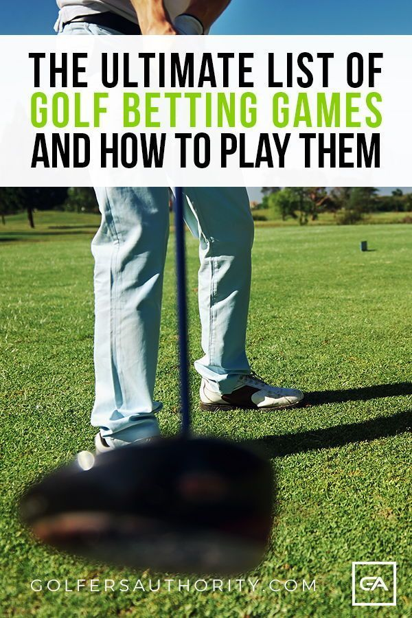 Types of golf betting games for five players acca insurance matched betting blog