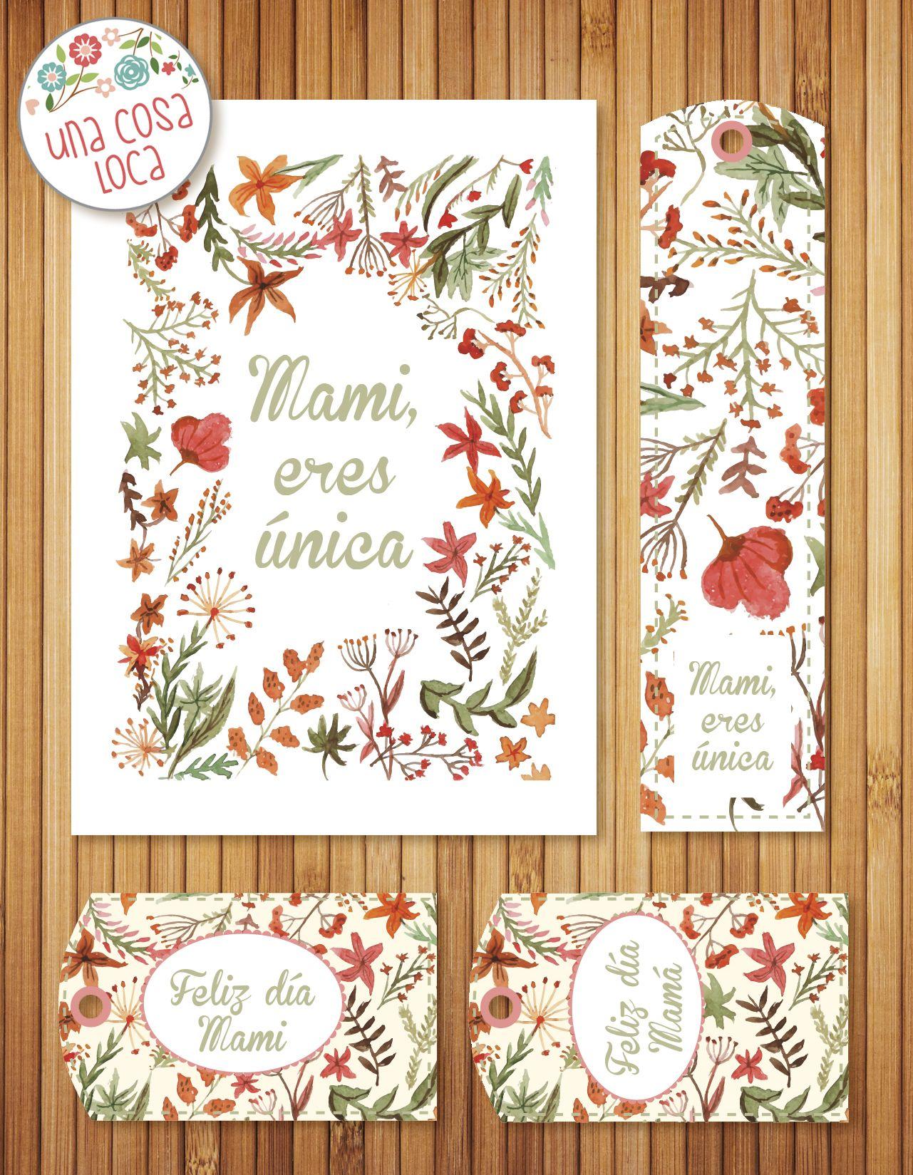 Kit Imprimible Desayuno Dia De La Madre Gratis
