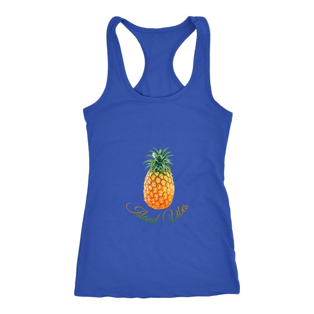 Island Vibes - Pineapple - Womens Tank
