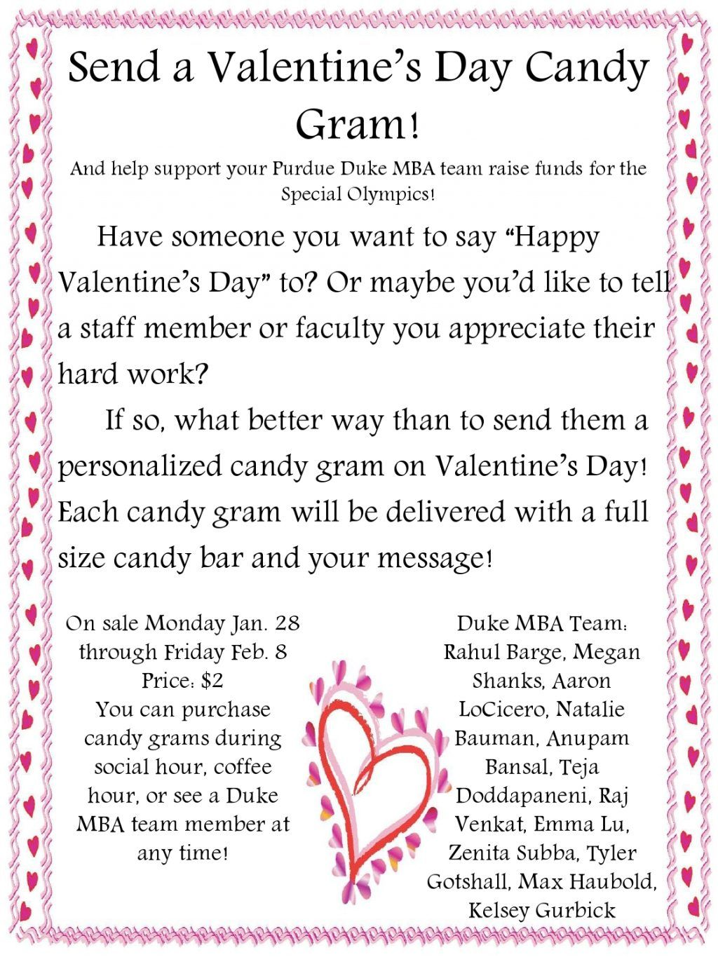 Image result for candy gram order form template ptg pinterest image result for candy gram order form template valentine ideas valentines fundraiser ideas candy maxwellsz