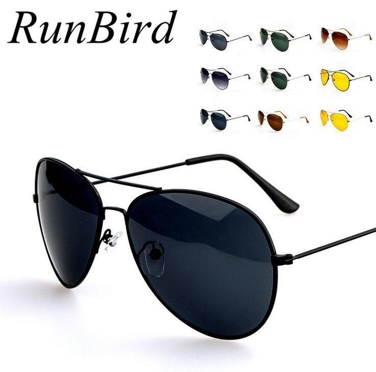 Runbird 2016 marco de Metal espejo de estilo UV gafas de sol mujer ...