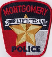 Montgomery Police Patch Texas