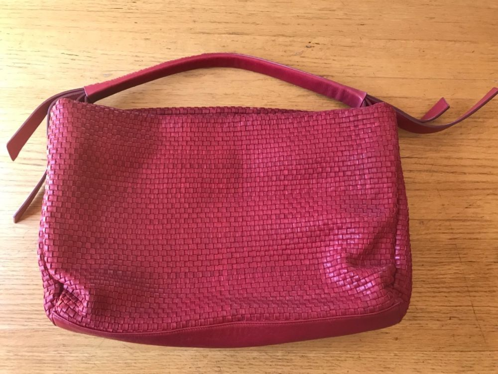 3b1ca1dda0d6 Cole Haan Bethany Weave single strap hobo handbag red Coach Frye  fashion   clothing  shoes  accessories  womensbagshandbags (ebay link)
