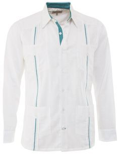 0414eecc Guayaberas Hombre, Camisas Guayaberas, Camisas Bordadas, Pantalones, Ropa