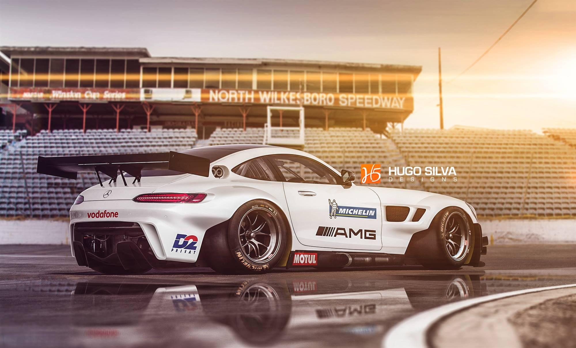 Mercedes Amg Lm Gte Concept Race Cars