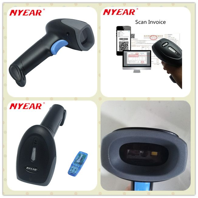 Bluetooth 4 0 CMOS 2d barcode scanner, support windows, android and