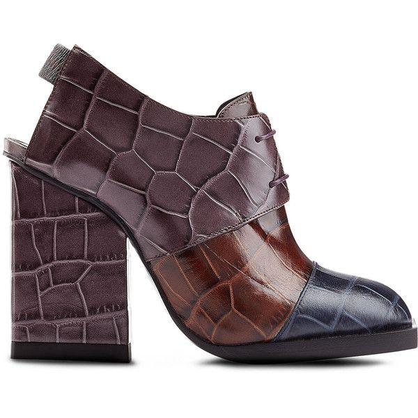 buy cheap purchase Jil Sander Embossed Leather Booties buy cheap factory outlet C1IkTrO