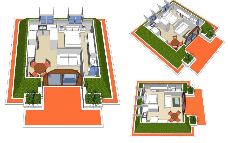 Waikiki Single 380 Sq Ft 16 251 Green Magic Homes Green Magic Floor Plans