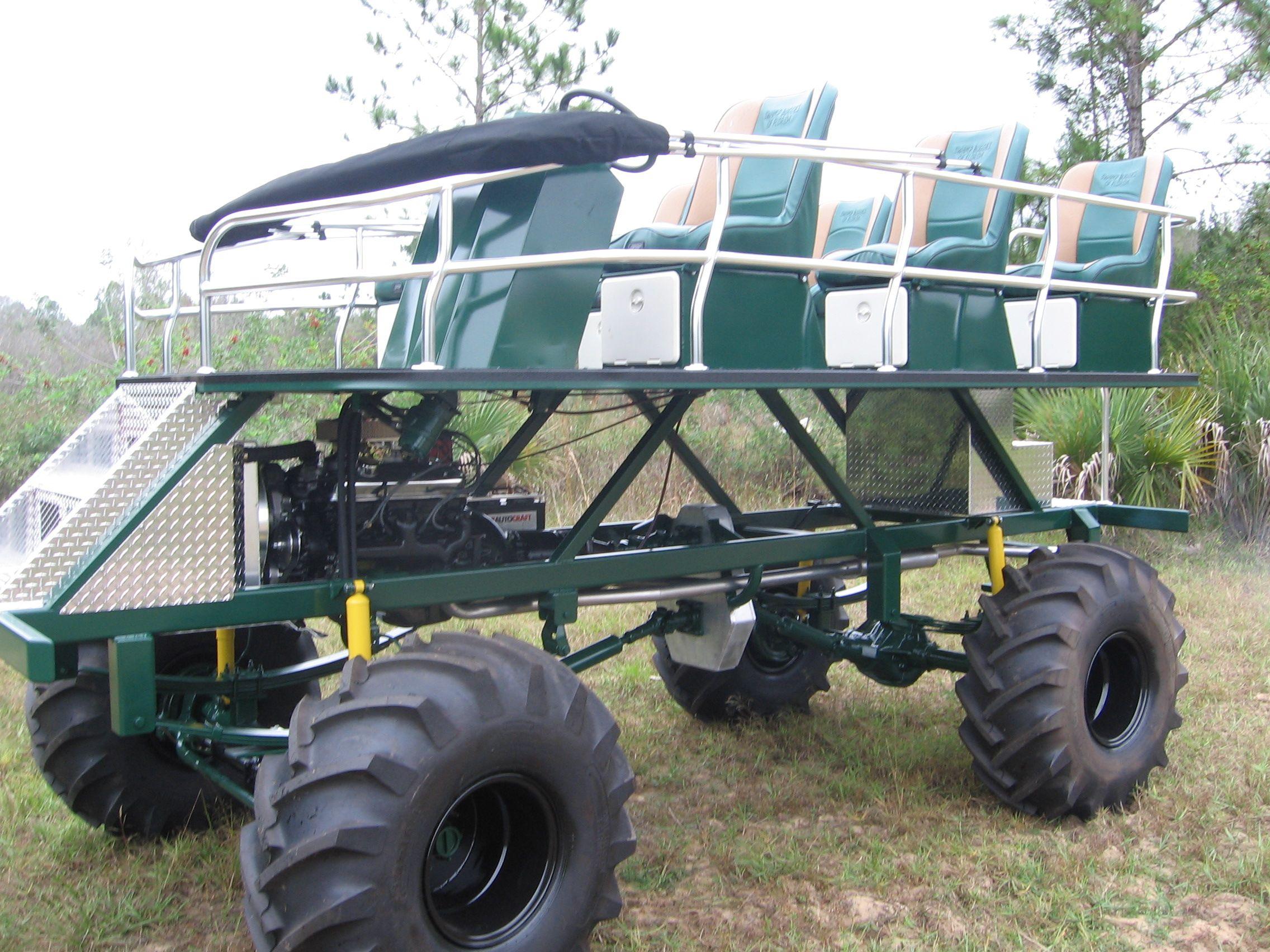 Swamp Buggy Parts   ton, 6-seat Swamp Buggy Blueprint 355 V8 engine 350 H.P. SBFL 3 to 1 .