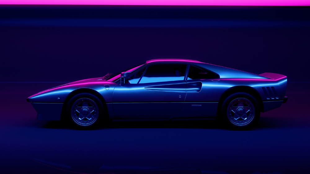 Weekly Inspiration For Designers 128 Neon Car Neon Lighting Classic Wallpaper