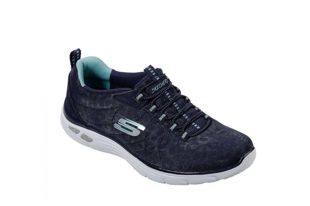 8f8cd91b4af Skechers Go Walk 2 Super Sock Turquoise Womens Slip On Shoes Skechers Go  Walk 2 Super Sock Turquoise Womens Slip On Shoes - Trainers   Skechers SS15  ...